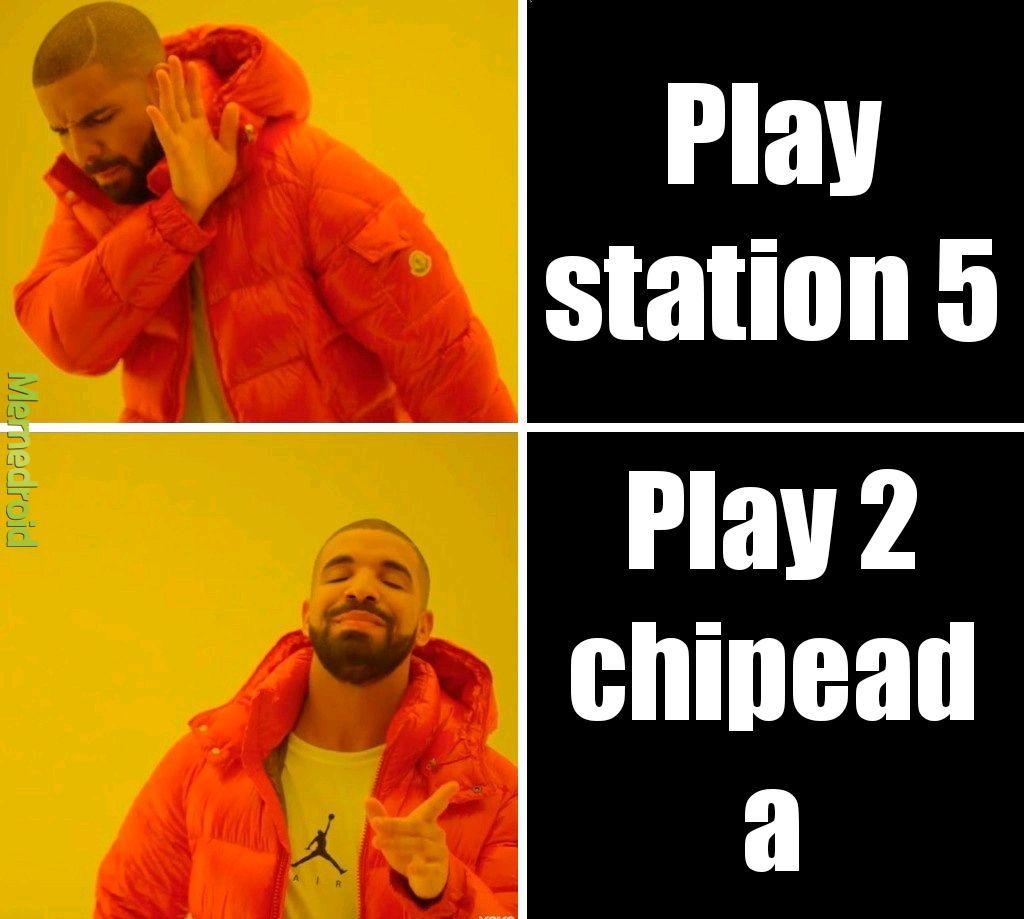 Una clásica play 2... :)) - meme
