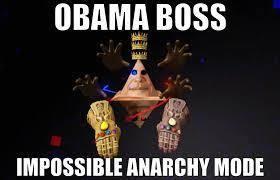 Obamium Modo Imposible Anarquico - meme