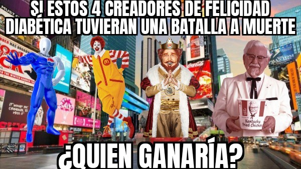¿Quien gana? ¿Quien sigue? Tú decides V5 - meme