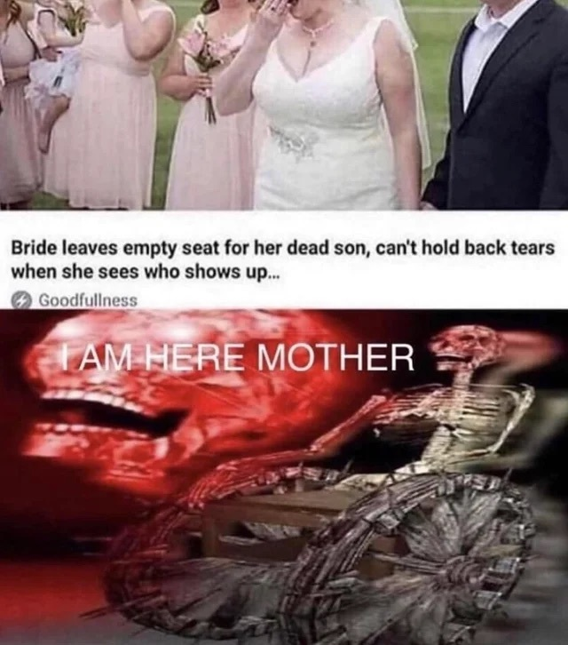 I am here mother - meme