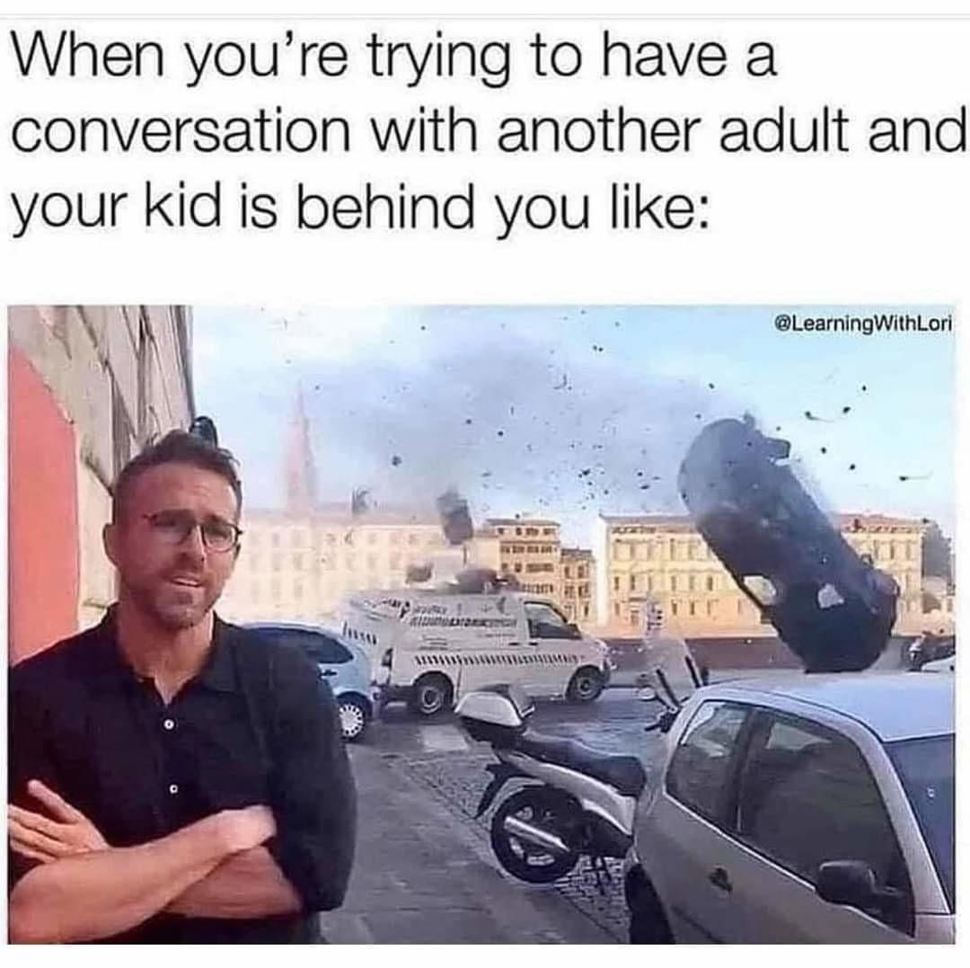 Kids be vibing - meme
