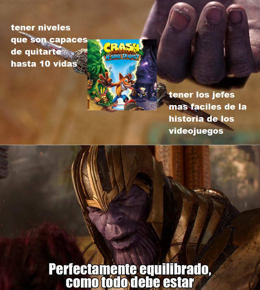 la dificulta mas equilibrada en el mundo de los videojuegos - meme