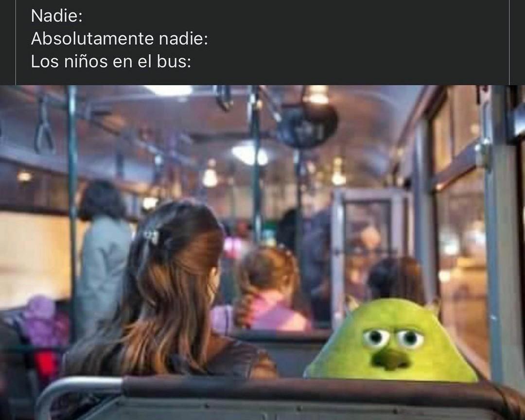 Niños - meme