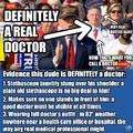 definetly a doctor ( ͡° ͜ʖ ͡°)