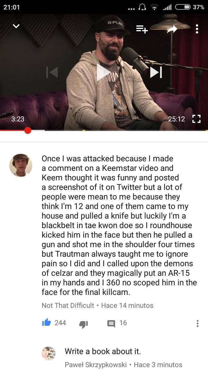 Keem fans - meme
