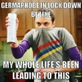 Germaphobes be like