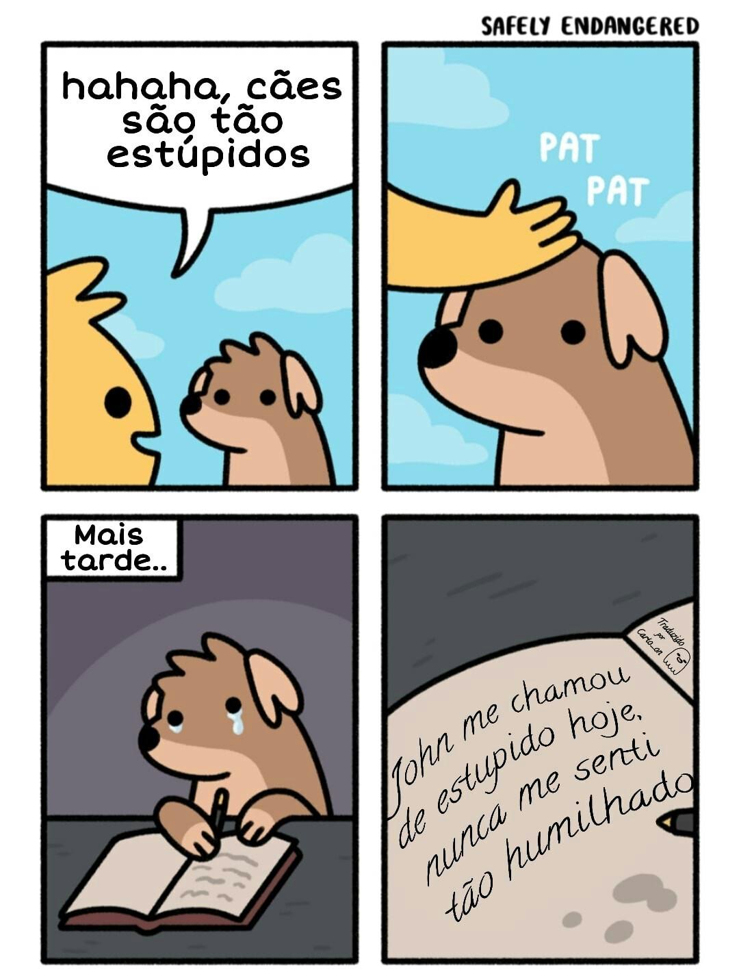 Doggo trister - meme