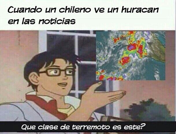 terremoto de viento :v - meme