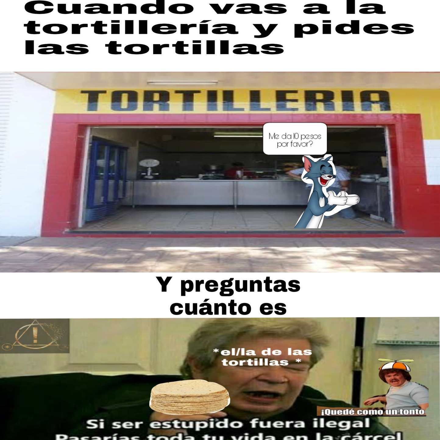 Tortillas - meme