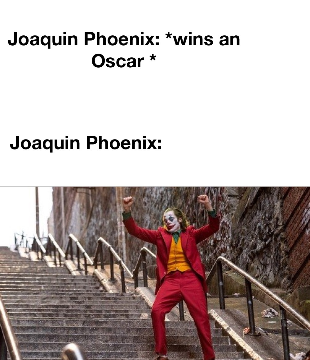 All I have are is Oscar thoughts - meme