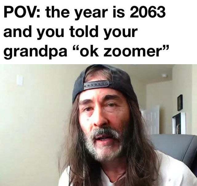 OK Zoomer - meme