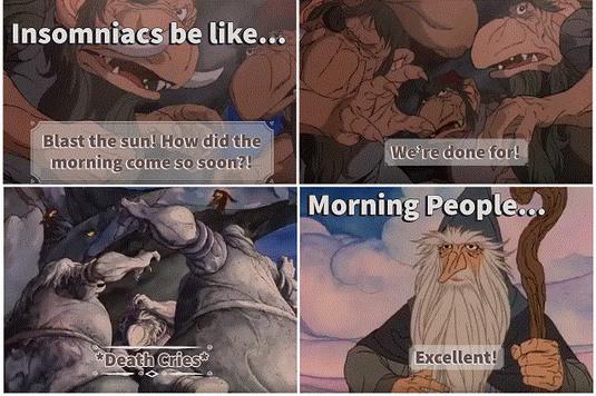 Insomniacs Be Like... - meme