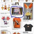 Pobrecita, solo busqué Braixen Merchandise y mm salió eso XDn´t