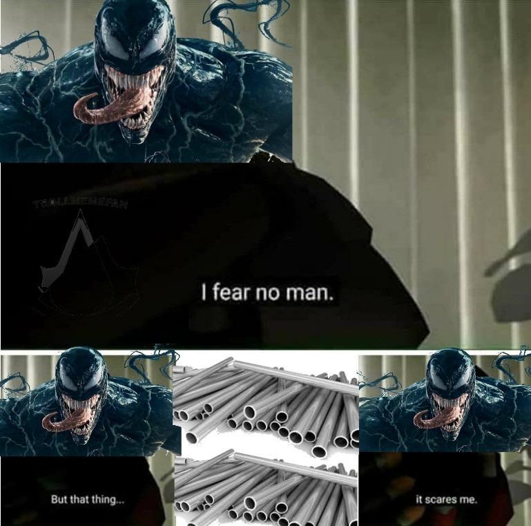 Pobre Venom - meme