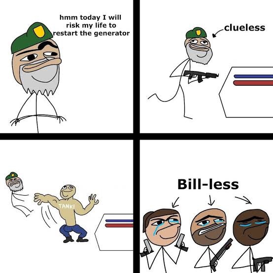 Bill-less - meme