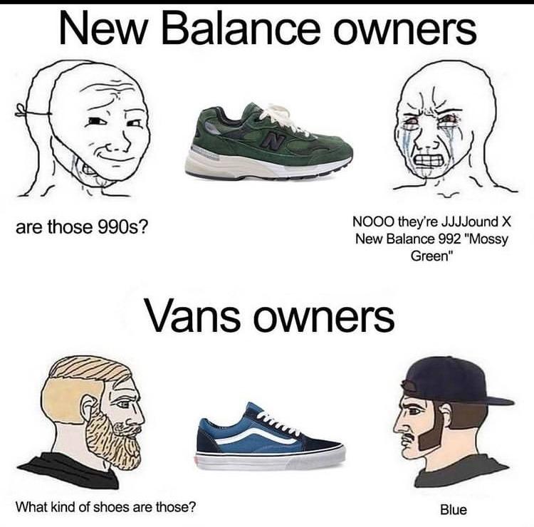 vans - meme