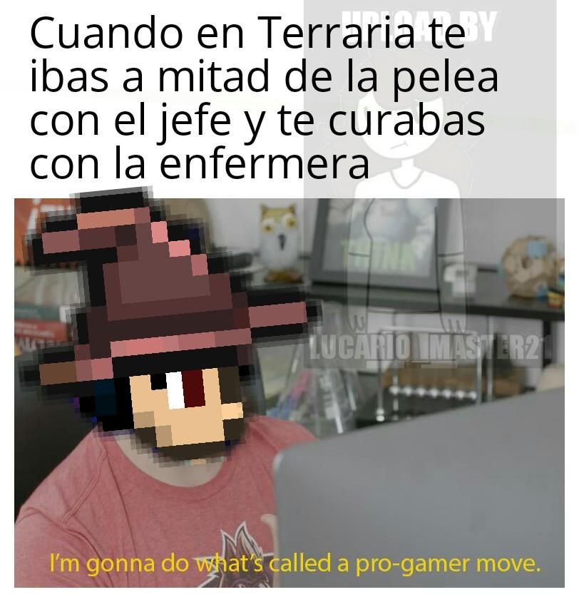 A tope con los memes de Terraria