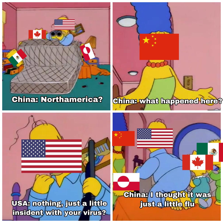 F'cking China - meme