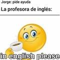 In english please