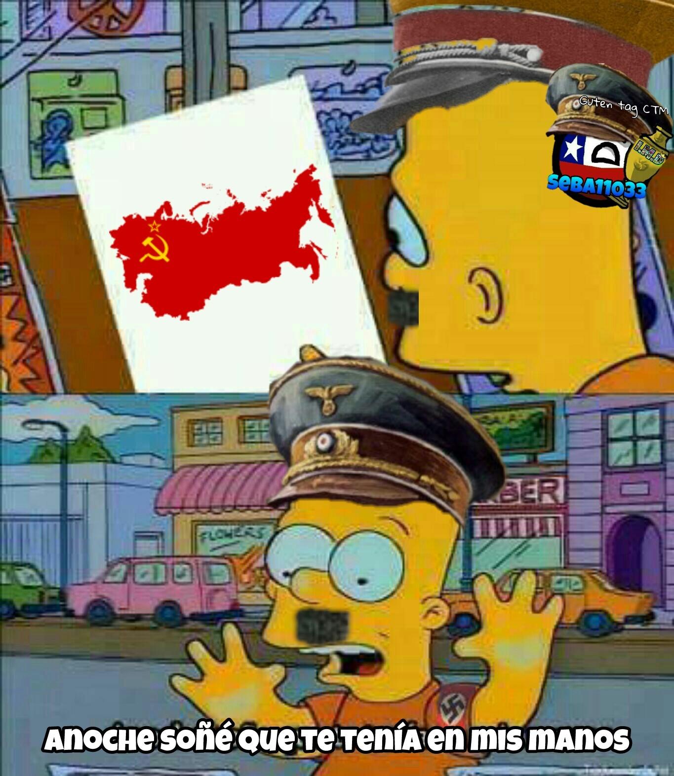 El sueño de Hitler - meme