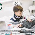 Cómo no odiar el TVP si solo la usan los niños autistas que lloran cuando les dicen que así no se usa el POV
