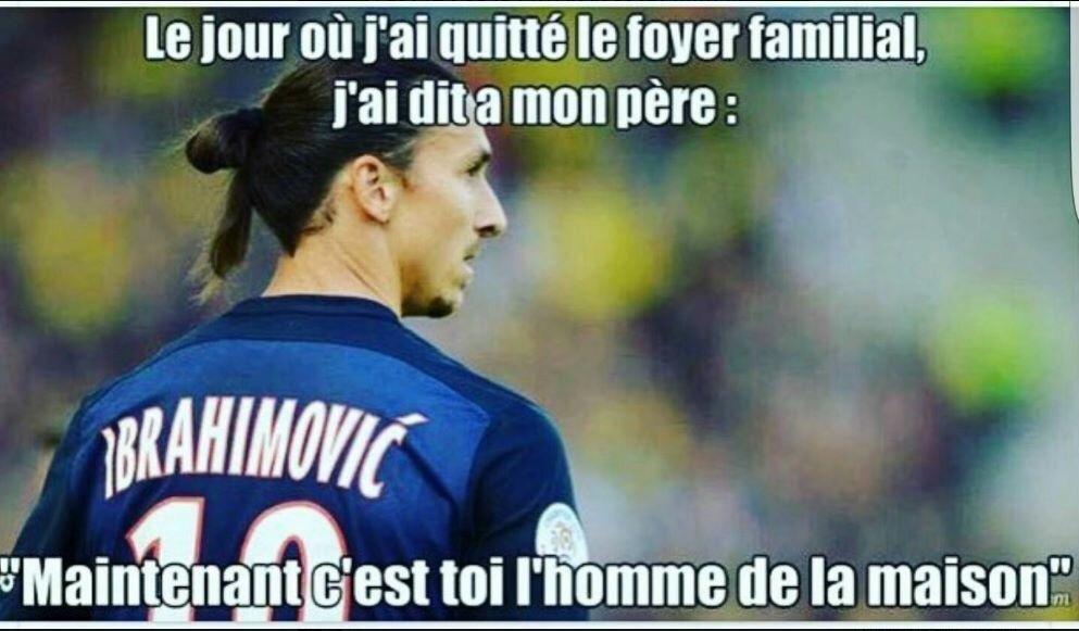 Zlatan comme patron - meme