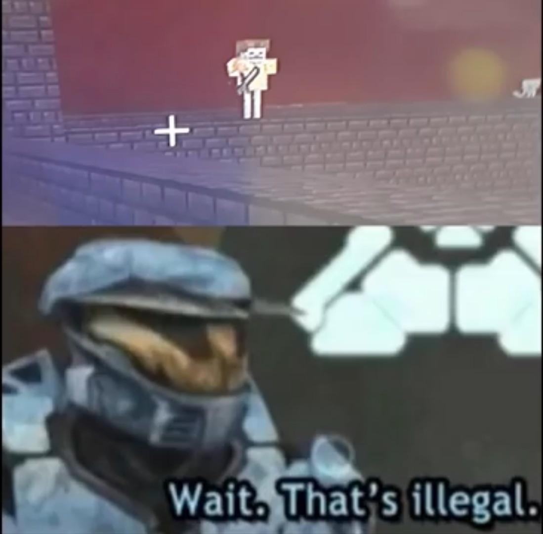 O ninja snow pode explicar essa cena - meme