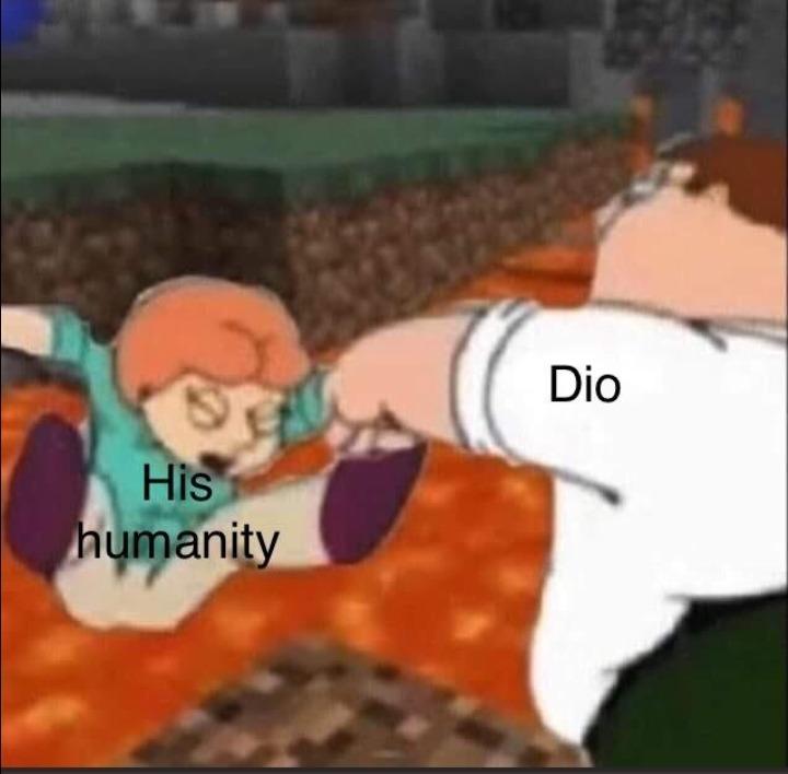 I REJECT MY HUMANITY JOOJO - meme
