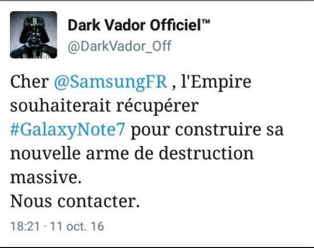Dark Vador à  rien respecté.... - meme