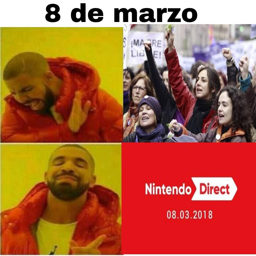 8 de marzo, HAY DIRECT! - meme