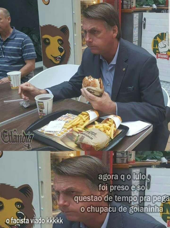 Chupa cu>Bolsonaro - meme
