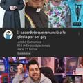El título descubrió que es gay