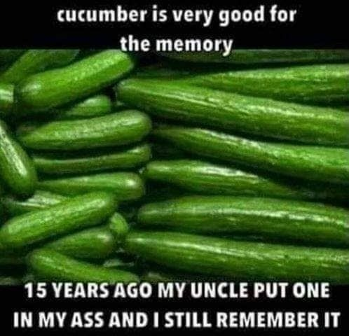 Cucumber issues - meme