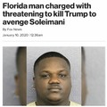 Florida man may not side with the USA