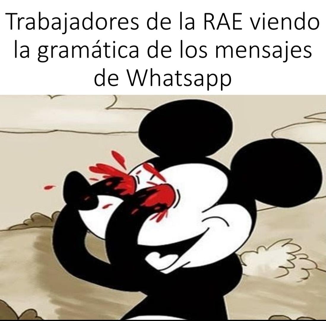 RAE Real Academia Española ( del idioma) - meme