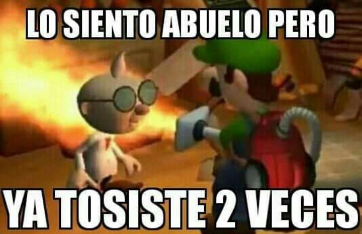 Luigi Mansion 5 - meme