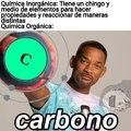 Si tu carbono no tiene 4 enlaces exactos, te cago a palos