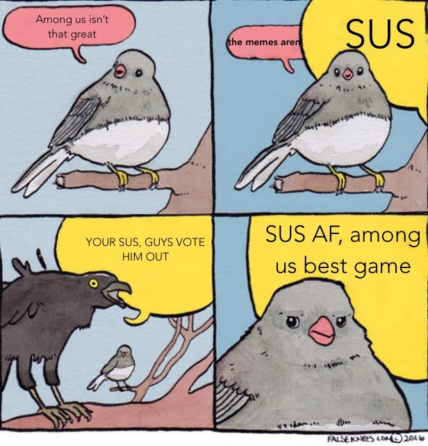 stop the among us memes cunts