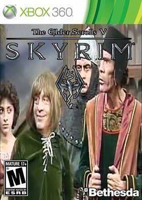 Al nuevo Skyrim le veo potencial - meme
