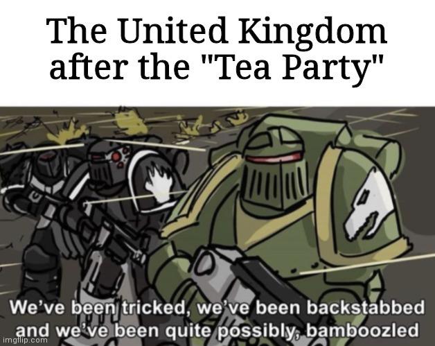 Those Americans - meme