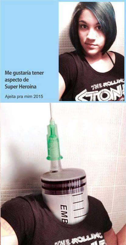 Heroina - meme