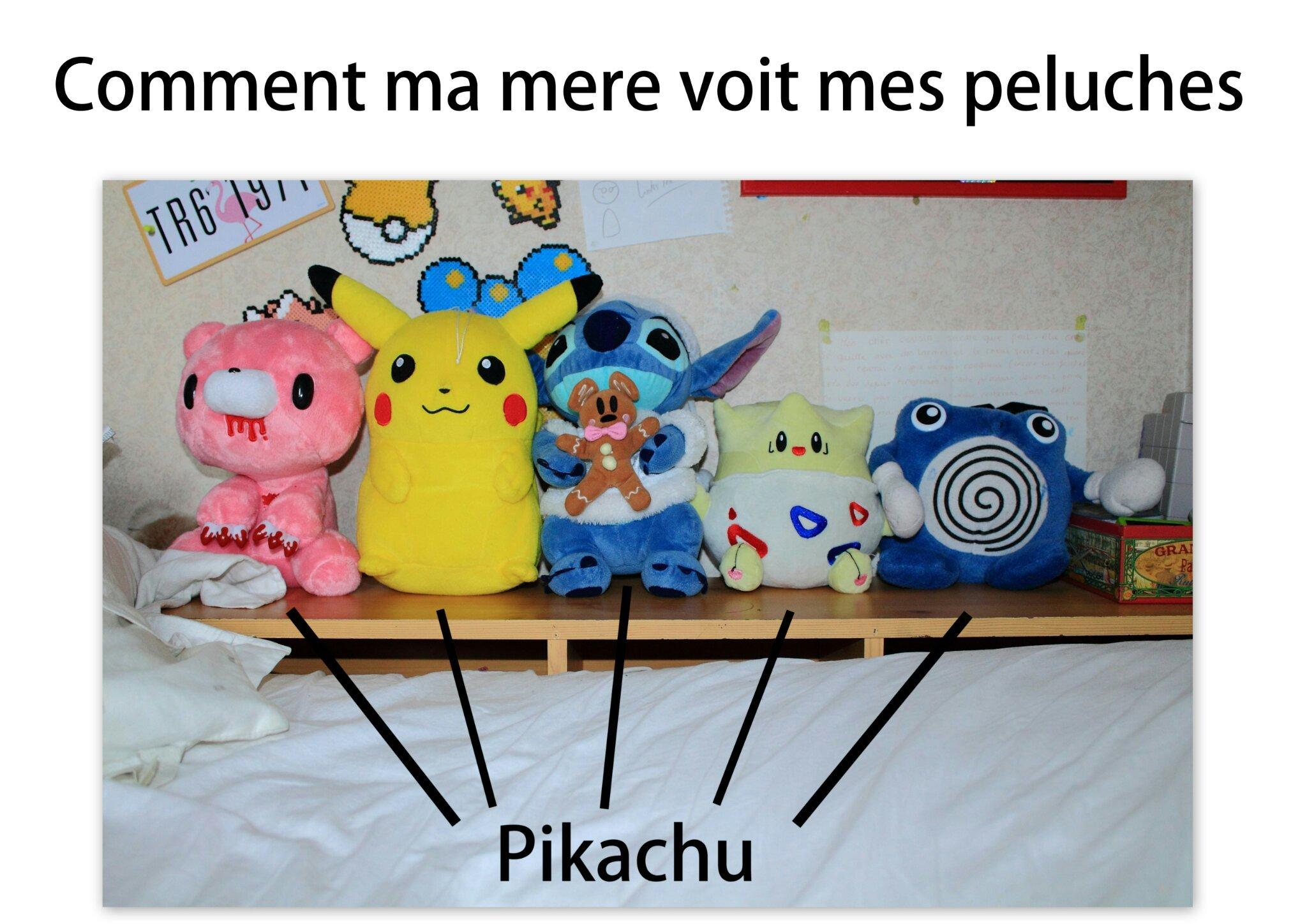 Pikachu world - meme
