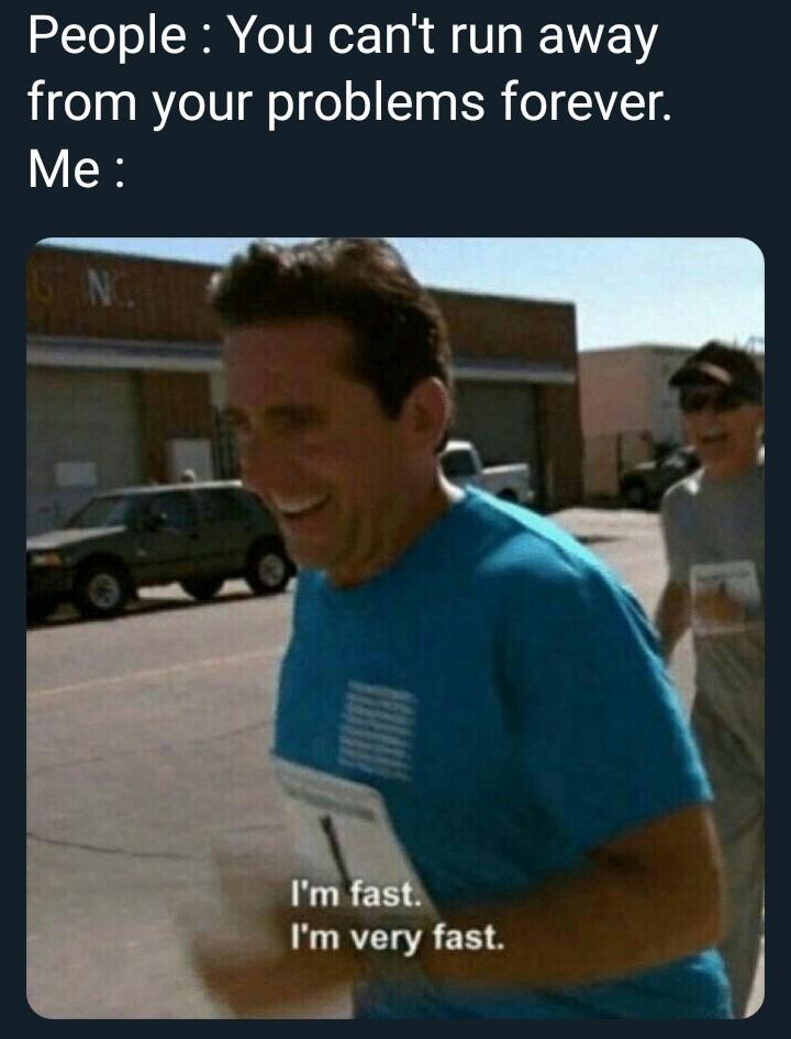 I am speed - meme