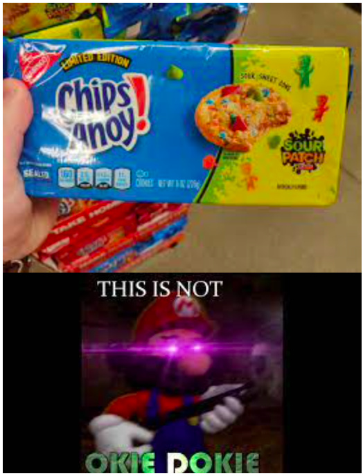 Sour Patch Kids Cookies - meme