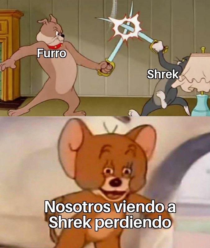 Noooo Shrek - meme