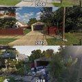 Nature reclaiming detroit neighborhood
