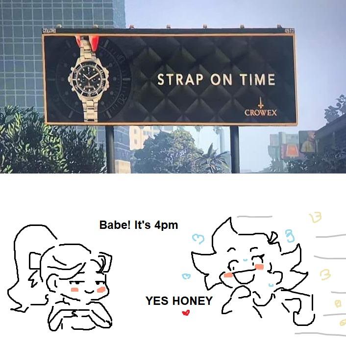 Strap-on = god ceinture en anglais 1 - meme
