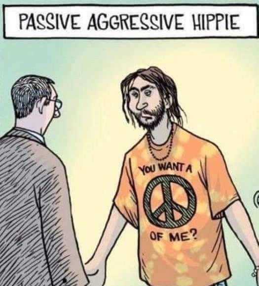 I'm afraid you have hippies ma'am - meme