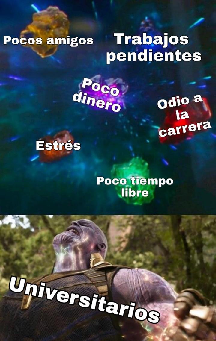 Universitario - meme