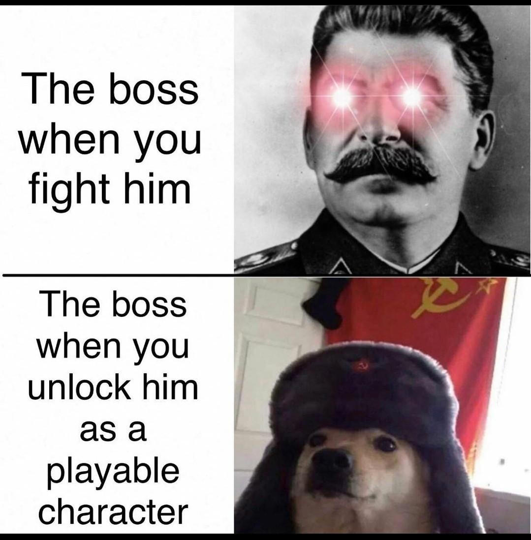 Comunism is not gay but... - meme